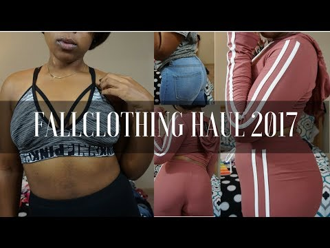 HUGE Fall Clothing Haul 2017! Fashion Nova, Nike, & More!| Kylah Mason
