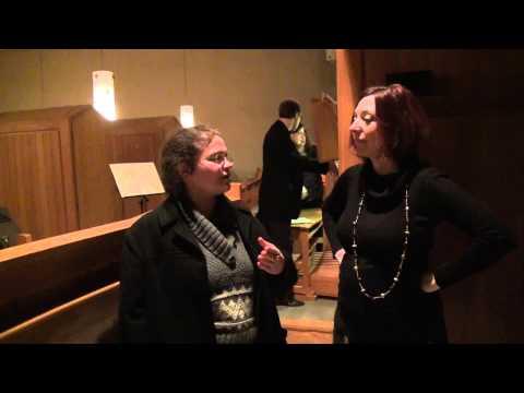Interviews pré-concert avec C. Ledoux et R. Twance, 21 II 2014