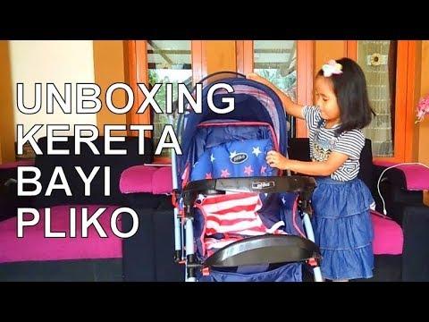 Unboxing Kereta Dorong Bayi Pliko