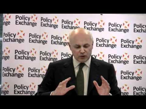 Iain Duncan Smith gives the second Leonard Steinberg Memorial Lecture | 09.05.2012