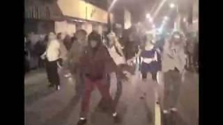Michael Jackson Thriller on Gottingen Street