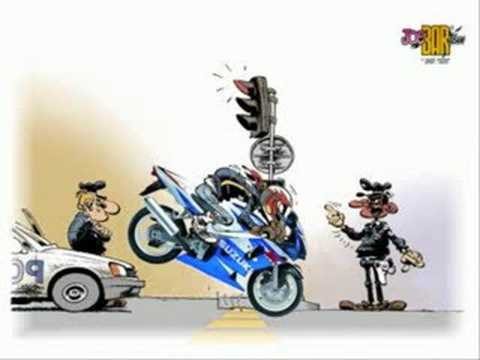 Vid o bd joe bar teem youtube - Motard humour images ...
