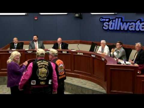 Stillwater City Council Discusses Stickland Park Upgrade Plan May 1, 2017--Video Starts at 16:56