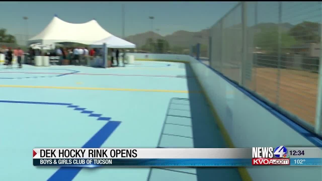 New DEK hockey rink