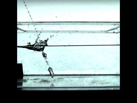 Slow Motion Simulated Urine Splash-Back | Video