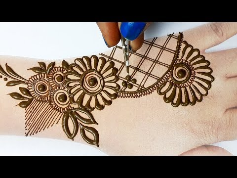 Mehndi Designs Easy for Hands - Beautiful Mehndi Design for Hands Step by Step