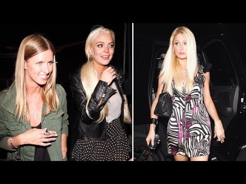Thumbnail: Lindsay Lohan Parties With The Hilton Sisters In Malibu [2011]