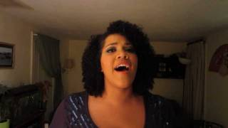 "Whitney Houston ""Star Spangled Banner/National Anthem"" cover- Chantal Ambroise"
