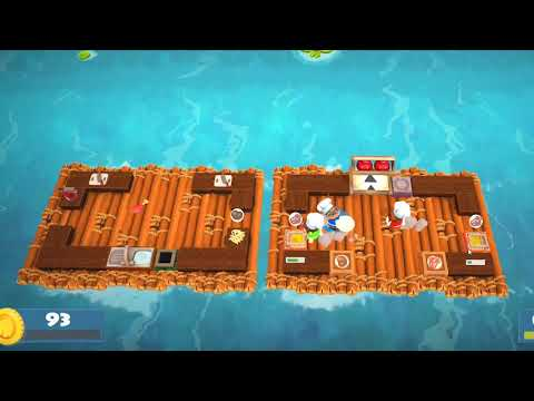 Overcooked 2: Falling off the map (alot) |