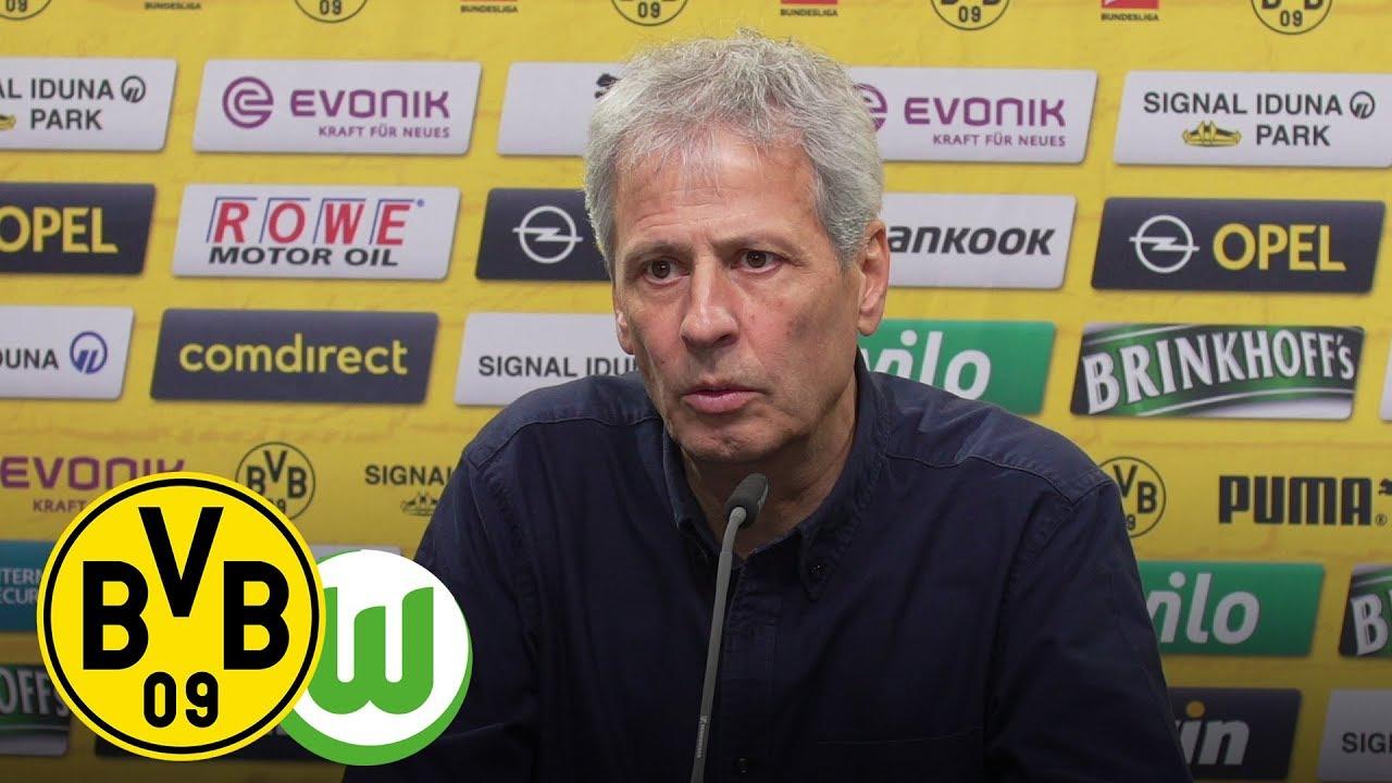 Live: Pressekonferenz mit Lucien Favre & Michael Zorc | BVB - VfL Wolfsburg