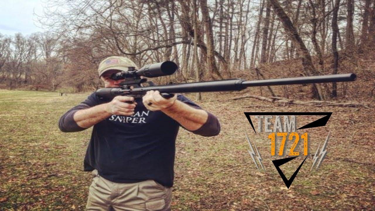 AirForce Texan Big Bore .45 cal PCP Air Rifle - YouTube 34bbe51f5
