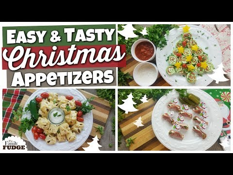 3 Christmas Appetizers 🎄 Quick + Easy + Frugal Recipes!