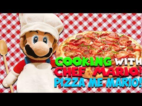 "SM134 Short: Cooking With Chef Mario! ""Pizza Me Mario"""