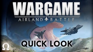 """Ohm's """"Wargame: Airland Battle"""" Quick Look - PC / Steam"""