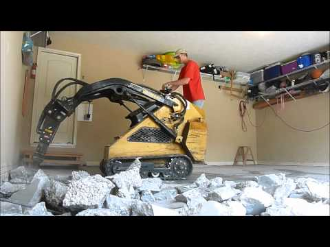 Garage Floorand Driveway Demo and Replacement