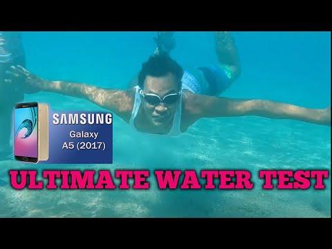 Samsung A5 2017 Under water test