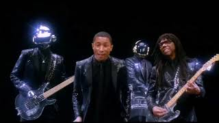 Chic vs Daft Punk and Pharell Williams - Get lucky, Good times mash up