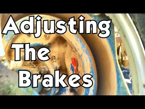 Adjusting the brakes on your    Ford       Tractor    Models 2000  3000     4000     5000  YouTube
