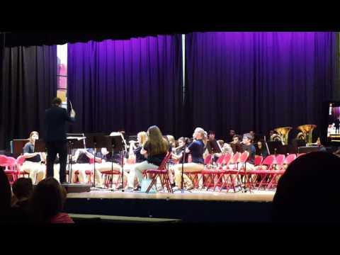 Gautier middle school Spring concert
