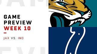 Jacksonville Jaguars vs. Indianapolis Colts | Week 10 Game Preview | Move the Sticks