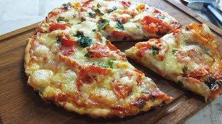 На Новый Год-Погорячее !Пицца с Пылу с Жару и на Стол ! Самое Быстрое Тесто.