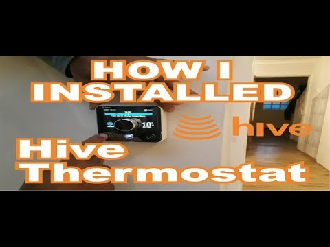 Hive Active Heating Combi Boiler Install