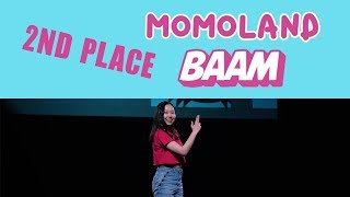 [PERFORMANCE] ECKO K-POP DANCE BATTLE AT OTAKON 2018   Momoland - BAAM   Jeanyeo