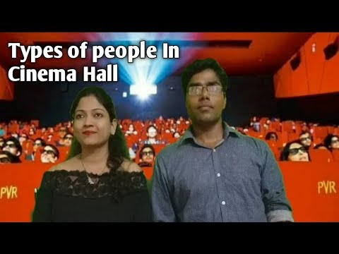 Types Of People In Cinema Hall | People in Movie Theater | Amy Ka Comedy Tadka