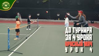 Уроки тенниса для детей. До турнира за 4 урока, Tennis 10S - Урок 4 TENNIS SECRETS