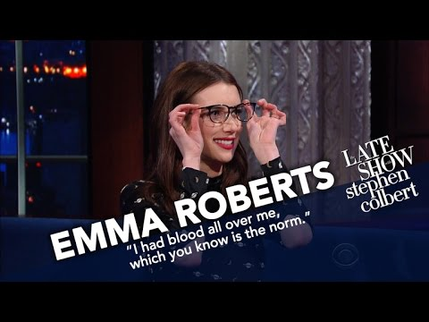 Emma Roberts Recruits Stephen For Her Online Book Club