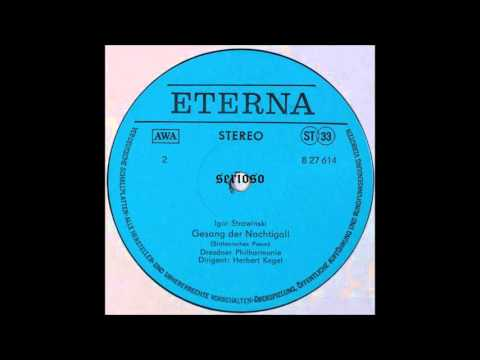 Stravinsky, Gesang Der Nachtigall, Herbert Kegel,cond