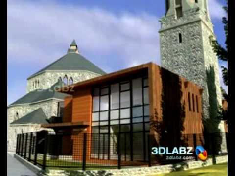 House On The Rock 3d Walk Through Animation Church