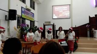 jingle bells amadea kolintang