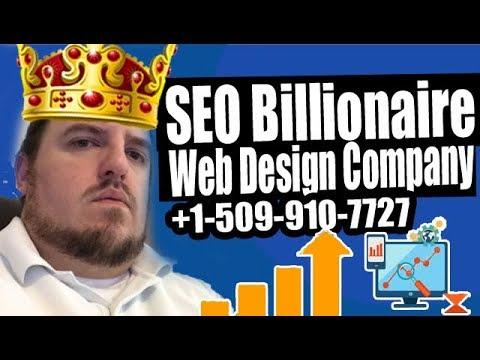 SEO Billionaire Web Design Company +1(509)910-7727