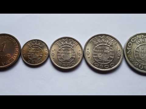 Coins of Portuguese Timor 1970