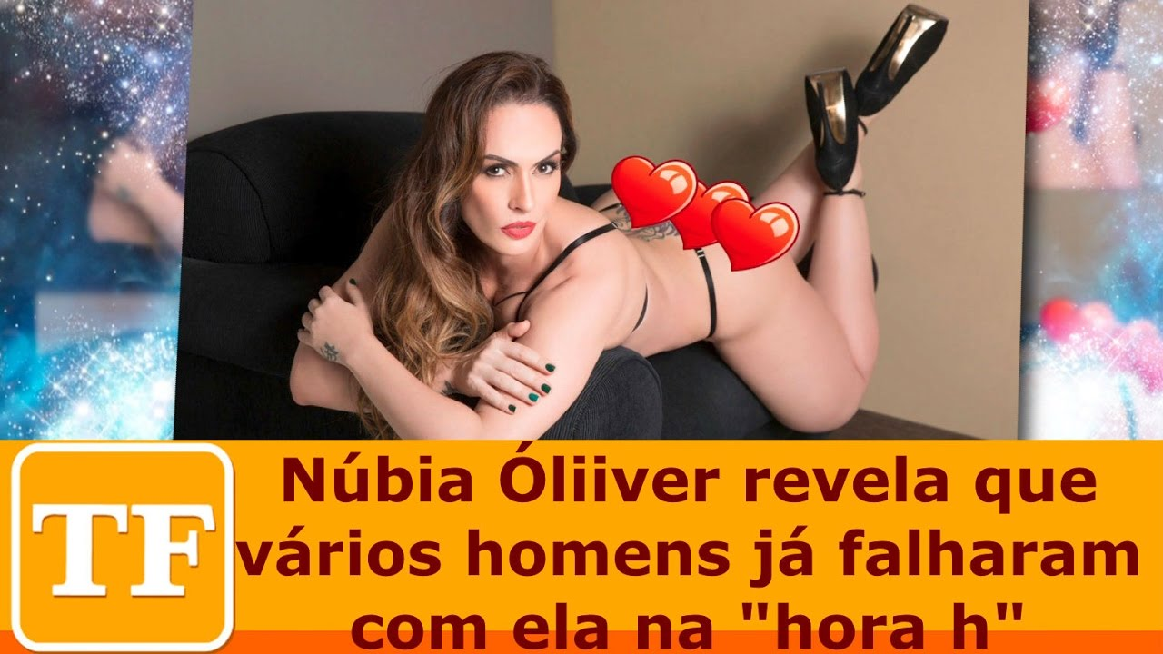 Núbia Óliiver revela que vários homens já falharam com ela na