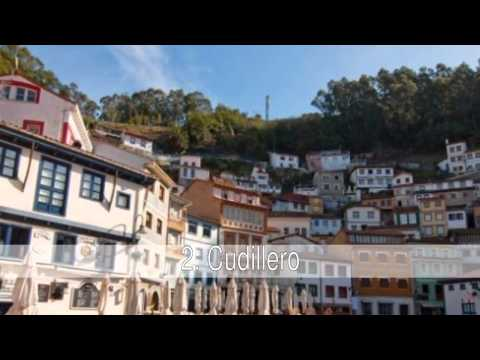 The most beautiful places in Asturias, Spain