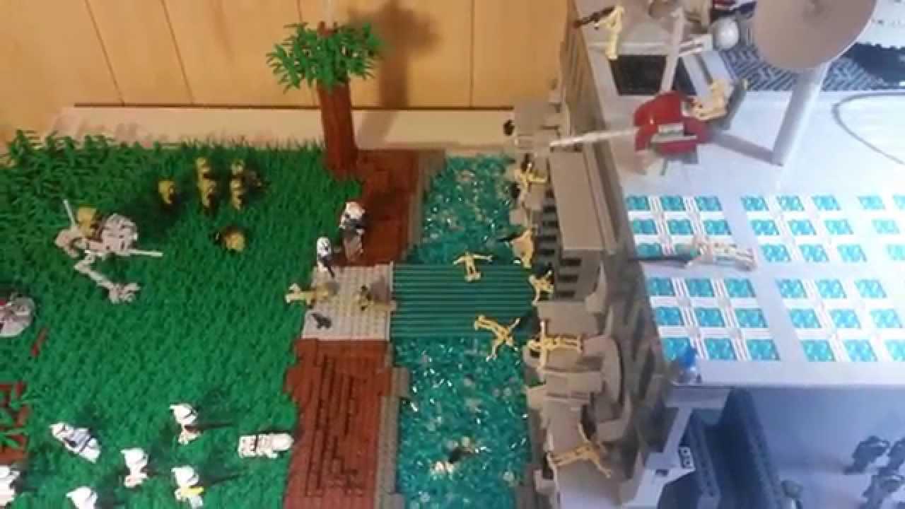 Huge lego star wars the clone wars droid base on alaris prime moc youtube - Lego star wars base droide ...