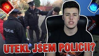 UTEKL JSEM POLICII?...