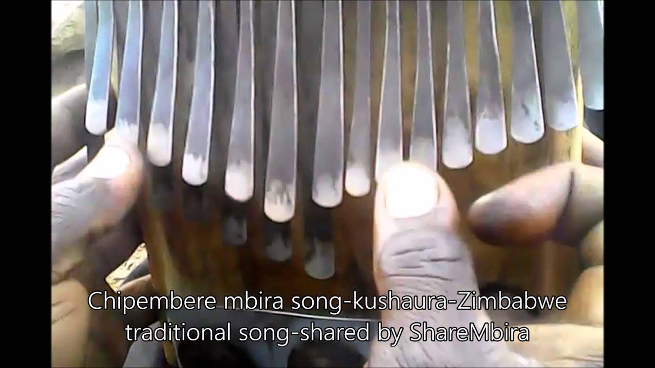 Chipembere Mbira Song Kushaura Zimbabwe Traditional Music Shared By Sharembira