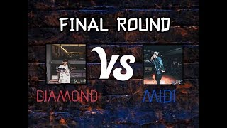 ชิงแชมป์ : DIAMOND FT. G-BEAR VS MIDI [ Final player ] | AreaRapVol.2