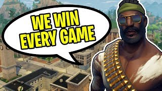 THIS TEAM IS UNSTOPPABLE!!! (Fortnite Battle Royale Squads Gameplay Win)