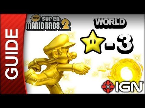 Star coin walkthrough super bros 2 star-3 3ds