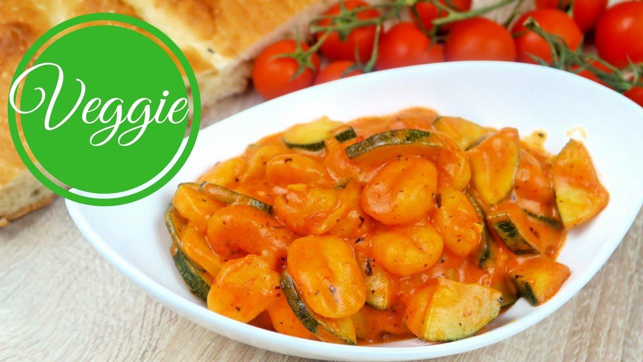 Leckere und schnelle Gnocchi-Pfanne mit Zucchini I One pot I ...