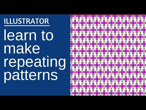 Make A Pattern In Illustrator Use The Pattern Maker For Seamless Beauteous Repeat Pattern Illustrator