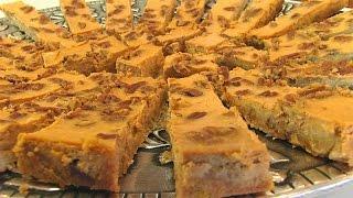 Betty's Pumpkin Cheesecake Bars
