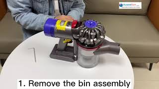 How to replace Dyson V7 vacuum…