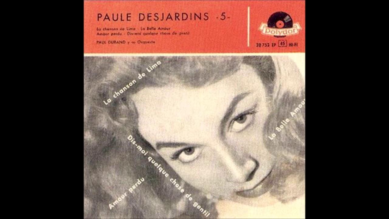 1957 Paule Desjardins La Belle Amour