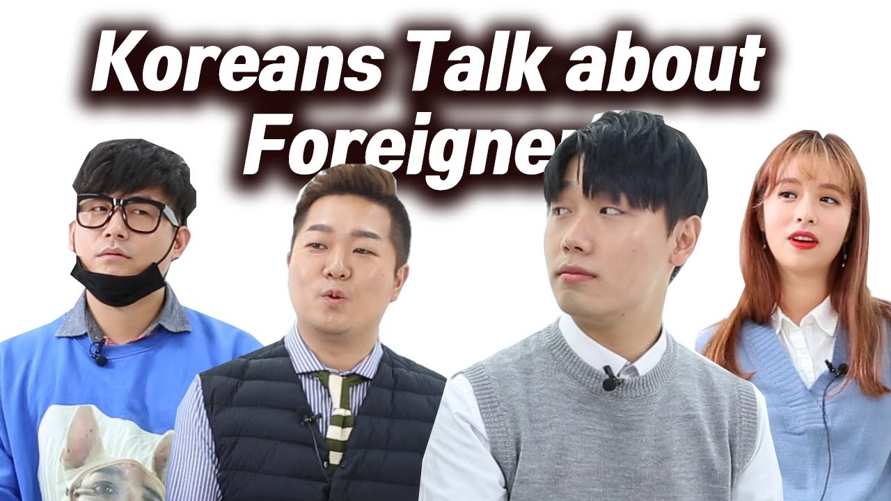 Do koreans find foreigners attractive