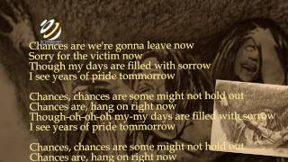 "Bob Marley ""Chances are"" (Lyrics-Letras)"